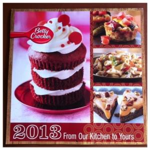 Betty Crocker Calendar 2013